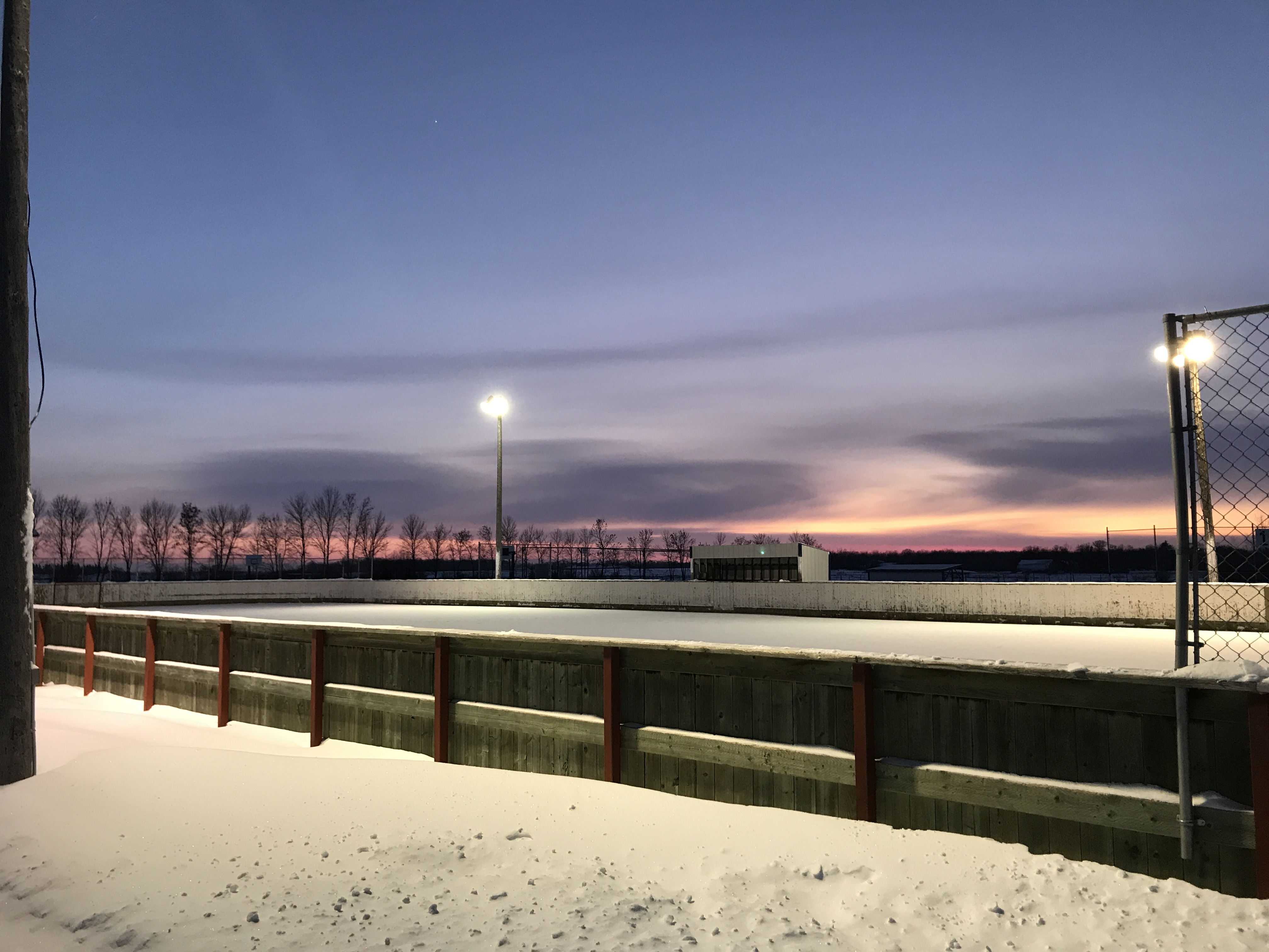 Blumenort Recreation - Outdoor Rink Closed